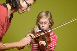 Violinenunterricht / Geigenunterricht an der WunderMusikSchule