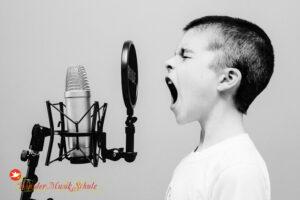 Gesangsunterricht an der WunderMusikSchule